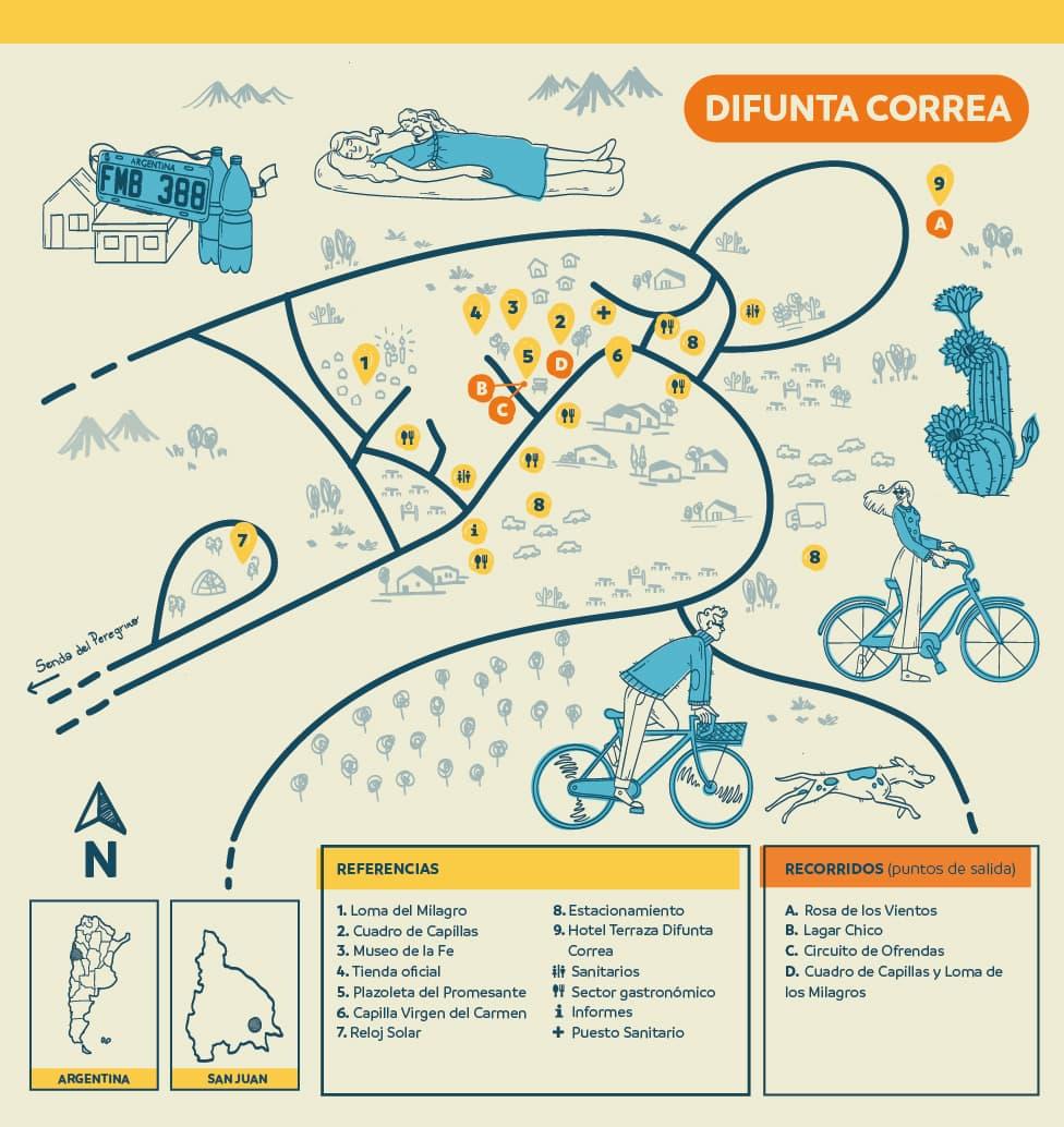 Difunta Correa - Guía de informante de sitio